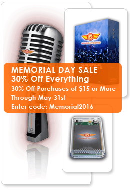 Memorial Day Sound Effects Sale