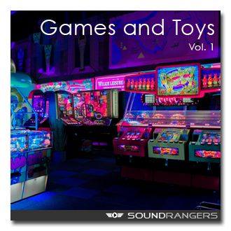 Games and Toy Sound Effects Library