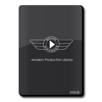 Complete Modern Production Library, Hard Drive