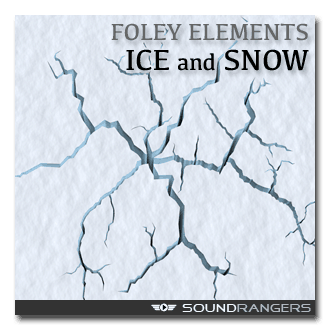 Ice and Snow Foley Elements Sound Effects Library