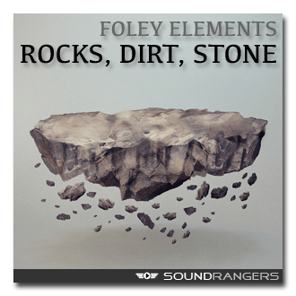 Rocks, Dirt and Stone Foley Elements Sound Library
