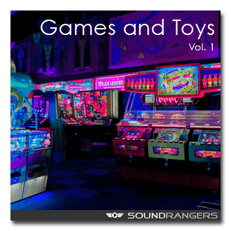 Toys and Games Sound Effects Library