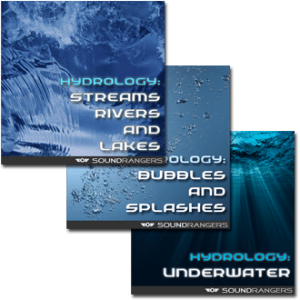 Hydrology-Complete Set Sound Effects Library