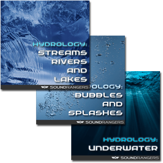 Hydrology: The Complete Set of Sound Effects Libraries