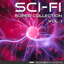 Sci-Fi Sound Effects Library - Soundrangers Royalty Free